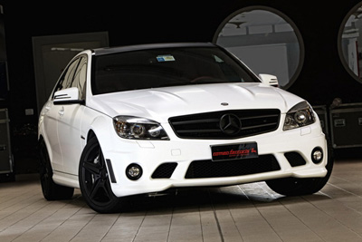 Mercedes C63 AMG WhiteStorm от Romeo Ferraris