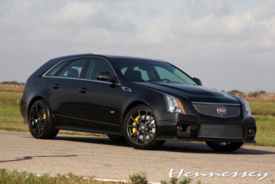 Cadilac CTS-V Black Diamond в тюнинге Hennessey